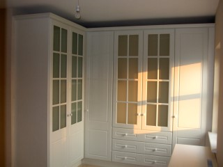 Ivory White Fitted Wardrobes