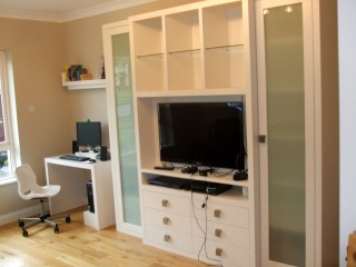 Painted White TV & Display Units
