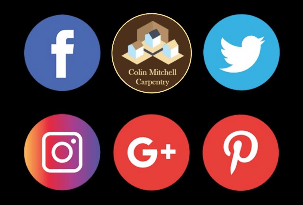 Colin Mitchell Carpentry Social Profiles