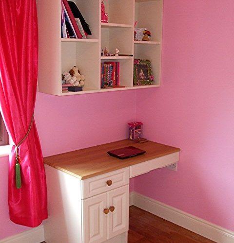 Homework Desk and Book Shelving